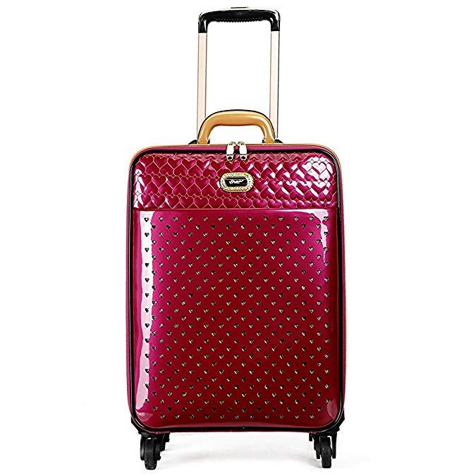 Brangio Italy Women's Small Carry-On Luggage Roller