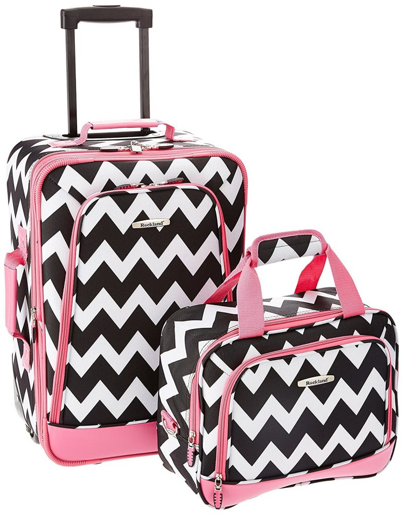 Rockland 2 Piece Expandable Luggage Set