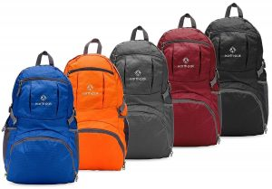Earth Pak Backpack - Foldable Day Pack - best backpacks for amusement parks