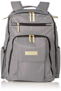 JuJuBe Be Right Back Multi-Functional Structured Backpack and Diaper Bag