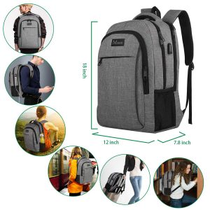 Travel Laptop Backpack,Business Anti Theft Slim Durable Laptops