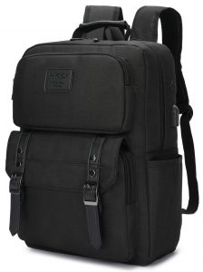 Vintage Laptop Backpack, 15-inch Laptop Backpack Pursuit Durable Business College Travel Daypacks