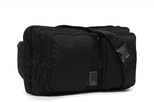Chrome BG-240-ALLB Black 9L MXD Segment Sling Bag