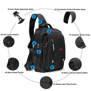 Sling Bags Chest Shoulder Backpacks