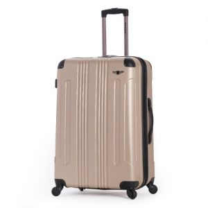 "Rockland Hard, 28"" Spinner Luggage, Champagne"