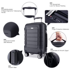 What are the qualities of the best luggage sets for Families
