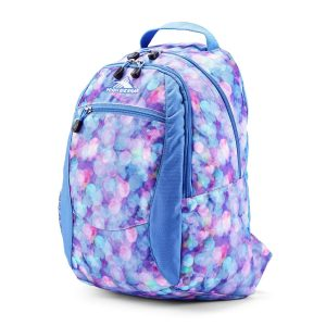 High Sierra Curve Lightweight and Compact Student Backpack - Stylish Bookbag or Lunch Backpack for Children, Teens, or Adults - Unisex Campus Backpack