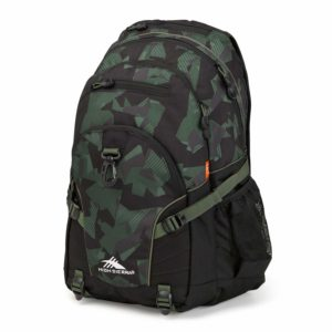 High Sierra Loop Backpack for Men and Women, Compact Bookbag Backpack for College Students
