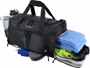 Ultimate Gym Bag 2.0: The Durable Crowdsource Designed Duffel Bag with 10 Optimal Compartments