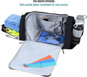 What Are The Best Gym Bags With Shoe Compartment