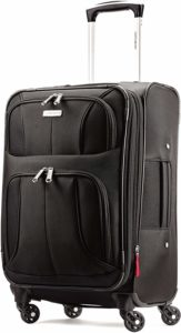 Samsonite Aspire Xlite Expandable Softside, Black, Carry-On 20