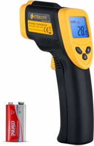 Etekcity Lasergrip 774 Non-Contact Digital Laser Infrared Thermometer Gun-58℉~ 716℉ (-50℃ ~ 380℃)