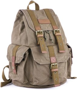 Gootium 21101 Specially High-density Thick Canvas Backpack Rucksack
