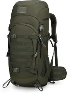 Mardingtop 50L/60L/75L Molle Hiking Internal Frame Backpacks with Rain Cover