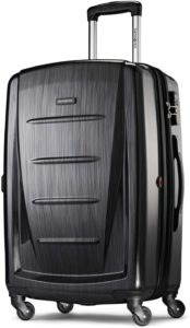 Samsonite Winfield 2 Hardside Expandable Luggage with Spinner Wheels, Brushed Anthracite