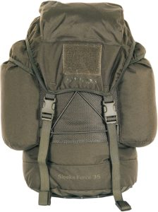 Snugpak Sleeka Force Backpack, Daypack with 2 Side Compartments, 35 Liter