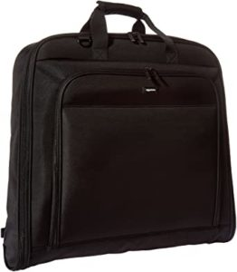 AmazonBasics Premium Travel Hanging Luggage Suit Garment Bag