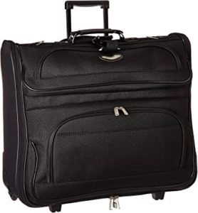 Travel Select Amsterdam Business Rolling Garment Bag with Protective Foam