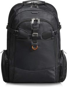 EVERKI Business 120 Travel Friendly Laptop Backpack, up to 18.4-Inch (EKP120)