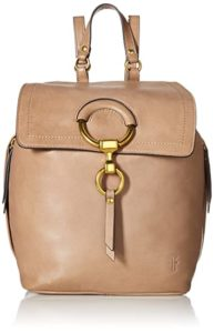 Frye Ilana Small Leather Backpack, grey