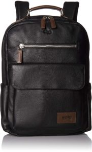 Solo Kilbourn Pebbled Leather Backpack