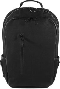 Bucktown Backpack Black Wax Canvas