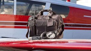 Lightspeed Aviation - The Gann, Leather Flight Bag