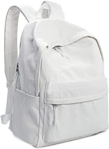 Zicac Unisex DIY Canvas Backpack Daypack Satchel Backpack