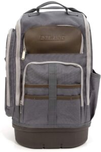 Estwing 94759 20-Inch Hard Bottom Tool Backpack