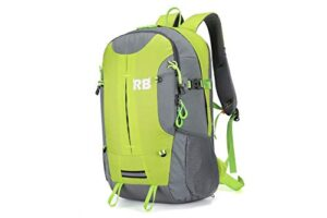 Reflective Backpack for riders and outdoor, Hi Viz fluor backpack for men, RiderBag Reflektor 35 G. Great for motorcycle and bike. Backpacks for running. Motorcycle backpack