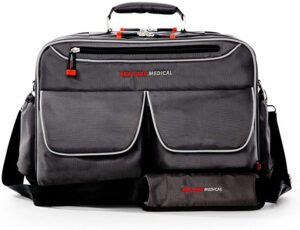 New Gear Medical Antimicrobial Messenger Bag, For Home Health, Nurse, travel, CNA, and Medical Professionals